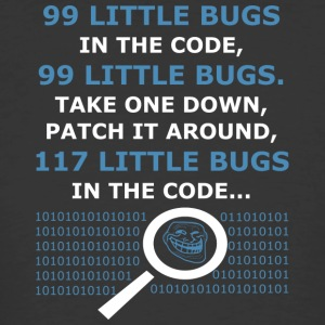 99 Little Bugs in the Code - Men's 50/50 T-Shirt