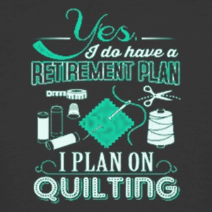 3 YES I DO HAVE A RETIREMENT PLAN - Men's 50/50 T-Shirt