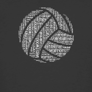 Volleyball words tshirt - Men's 50/50 T-Shirt