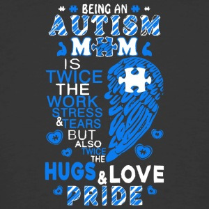 Proud Autism Mom T Shirt - Men's 50/50 T-Shirt