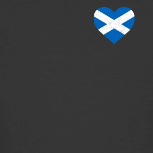 Scotland Flag Shirt Heart - Scottish Shirt - Men's 50/50 T-Shirt
