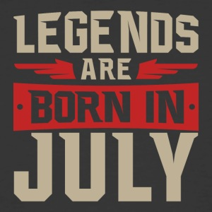 Legends Are Born in July - Men's 50/50 T-Shirt
