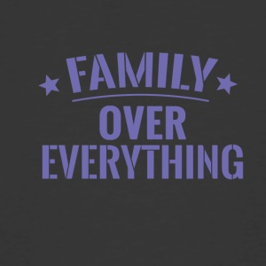 FAMILY OVER EVERYTHING - Men's 50/50 T-Shirt