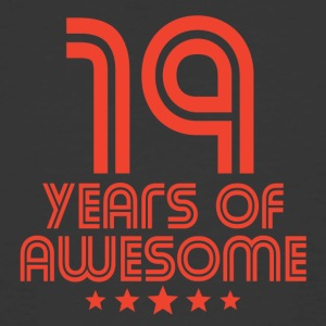 19 Years Of Awesome 19th Birthday - Men's 50/50 T-Shirt