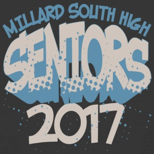 Millard South High 2017 - Men's 50/50 T-Shirt
