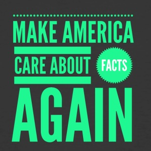 IMG 2132 make America care about facts again - Men's 50/50 T-Shirt