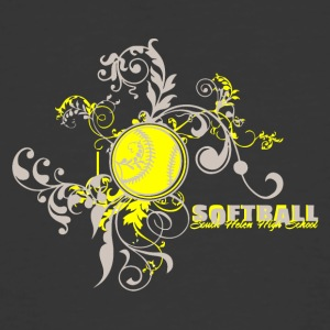 Softball South Helen High School - Men's 50/50 T-Shirt