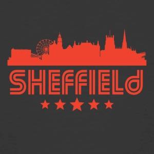 Retro Sheffield Skyline - Men's 50/50 T-Shirt