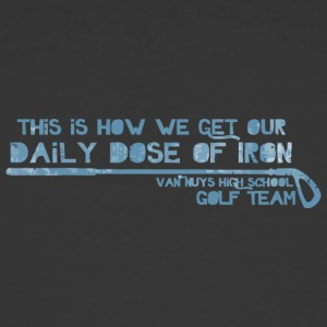 This Is How We Get Our Daily Dose Of Iron Van Nuys - Men's 50/50 T-Shirt