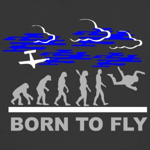 Born to fly1 - Men's 50/50 T-Shirt