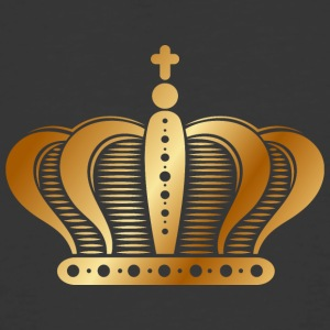 Ornate-golden-royal-crowns-vector-king - Men's 50/50 T-Shirt