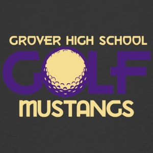 Grover High School Golf Mustangs - Men's 50/50 T-Shirt