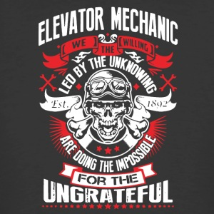 WE THE WILLING - ELEVATOR MECHANIC SHIRT - Men's 50/50 T-Shirt