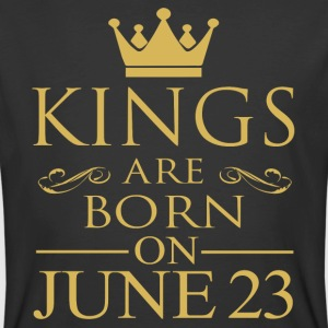 Kings are born on June 23 - Men's 50/50 T-Shirt