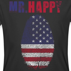 MR HAPPY - Men's 50/50 T-Shirt