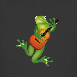 musician frog with guitar - Men's 50/50 T-Shirt