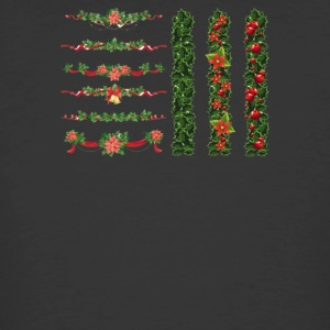 Christmas Elements 7 - Men's 50/50 T-Shirt