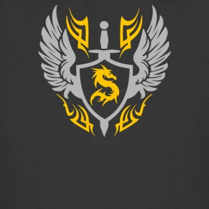 Cool Warrior Shield - Men's 50/50 T-Shirt
