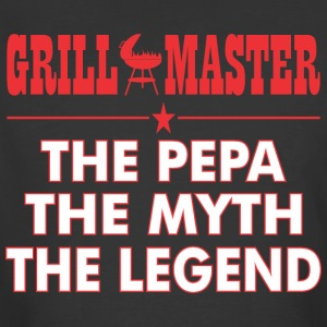 Grillmaster The Pepa The Myth The Legend BBQ - Men's 50/50 T-Shirt