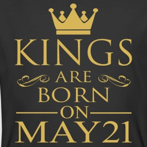 Kings are born on May 21 - Men's 50/50 T-Shirt