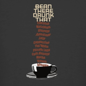 bean there Drunk that - on black - Men's 50/50 T-Shirt
