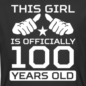 This Girl Is 100 Years Funny 100th Birthday Shirt - Men's 50/50 T-Shirt