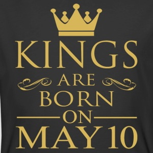Kings are born on May 10 - Men's 50/50 T-Shirt