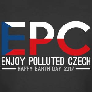 EPC Enjoy Polluted Czech Happy Earth Day 2017 - Men's 50/50 T-Shirt