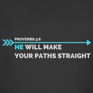 Proverbs 3:6 - Men's 50/50 T-Shirt