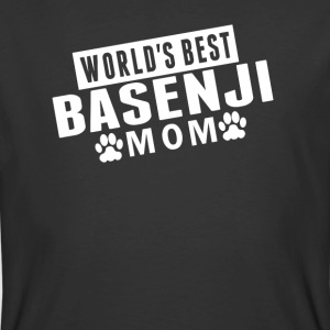 World's Best Basenji Mom - Men's 50/50 T-Shirt