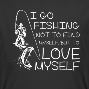 I go Fishing not to find myself - Men's 50/50 T-Shirt