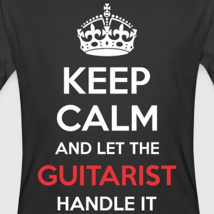 Keep Calm And Let Guitarist Handle It - Men's 50/50 T-Shirt