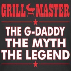 Grillmaster The Gdaddy The Myth The Legend BBQ - Men's 50/50 T-Shirt