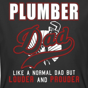 Plumber Dad Like A Normal Dad But Louder & Prouder - Men's 50/50 T-Shirt