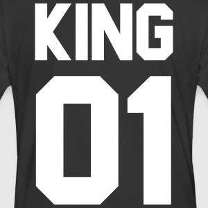 King 01 - Men's 50/50 T-Shirt