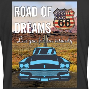 Route 66 shirt and mug - Men's 50/50 T-Shirt