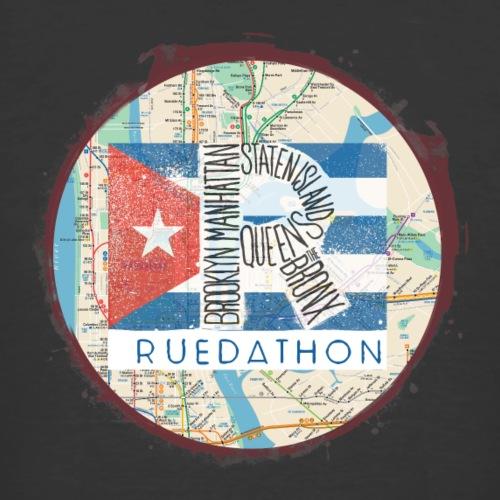 RUEDATHON 2019 (burgundy) - Men's 50/50 T-Shirt