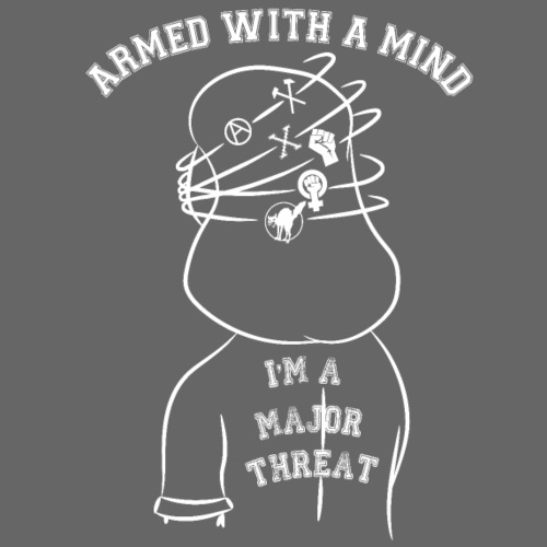 Armed With A Mind Montreal SXE - Men's 50/50 T-Shirt