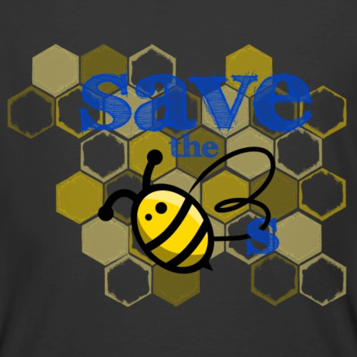 Save The Bees - Men's 50/50 T-Shirt