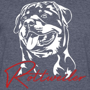 Rottweiler Dog - Men's 50/50 T-Shirt