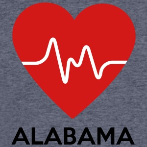 Heart Alabama - Men's 50/50 T-Shirt