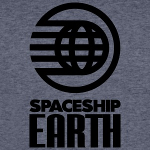 SPACESHIP EARTH - Men's 50/50 T-Shirt