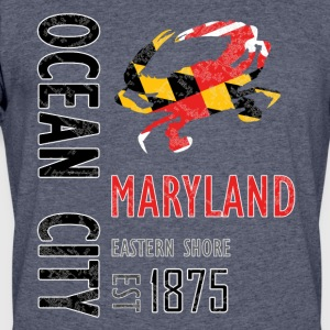 Ocean City Maryland Crab - Men's 50/50 T-Shirt