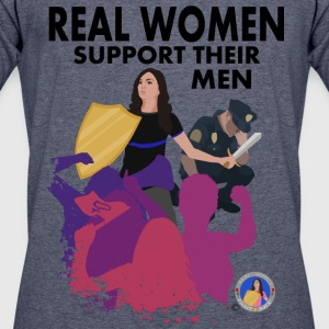Real Women Fight Back: Law Enforcement - Men's 50/50 T-Shirt
