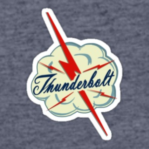 Thunderbolt - Men's 50/50 T-Shirt
