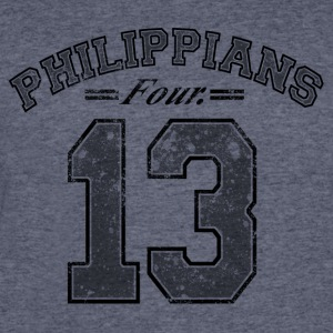 Philippians 4:13 - Men's 50/50 T-Shirt