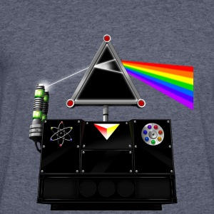 This Island Earth Interocitor Dark Side Prism - Men's 50/50 T-Shirt