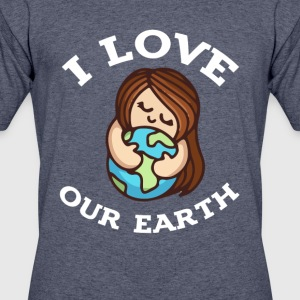 earth day i love our earth 2017 tshirt - Men's 50/50 T-Shirt