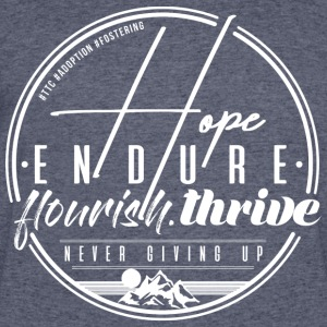 Hope Endure - Men's 50/50 T-Shirt