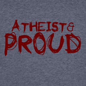 Atheist and Proud - Men's 50/50 T-Shirt